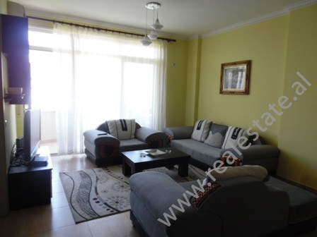 A three bedroom apartment for rent is offered in Selita e Vjeter street in Tirana. 