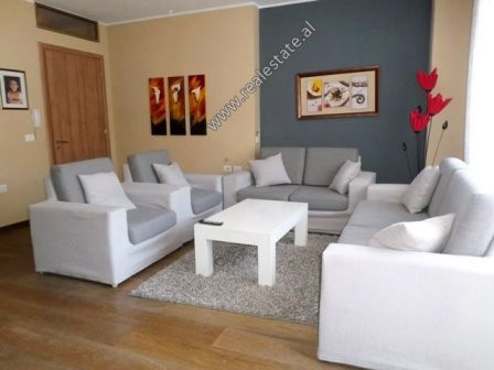 Two bedroom apartment for rent in Hasan Alla Street in Tirana. It is situated on the 3-rd floor of