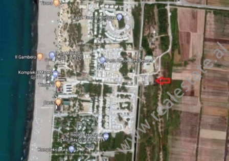 Land for sale in Lalzit Bay in Durres