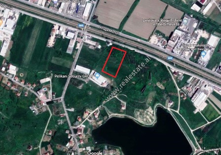 Land for sale close to Butrinti secondary road in Kashar area in Tirana. It is located close to the