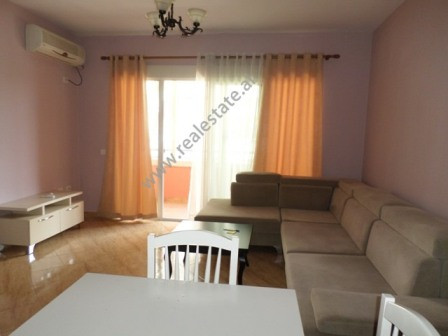 Apartment for rent in Don Bosko street in Tirana. The apartment is situated on the first floor of a