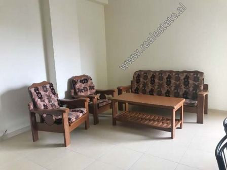Apartment for rent near Reshit Petrela Street in Tirana. It is situated on the 6-th floor in a new