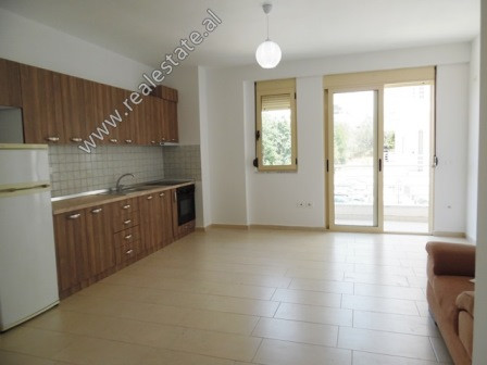 One bedroom apartment for rent in Eduard Mano Street in Tirana. It is located on the 2nd floor of a