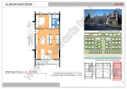 Two bedroom apartment for sale in Hamallaj, in Lalzit Bay. It is located on the first floor o