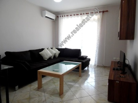 Two bedroom apartment for rent in in Don Bosko area in Tirana. It is situated on the 2-nd floor of