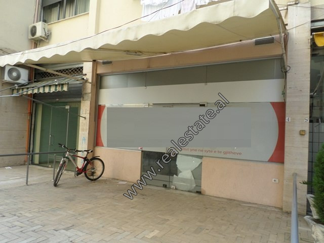 Space for sale in Hasan Alla street in Komuna e Parisit area, in Tirana. It is located on the first