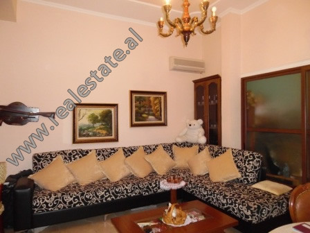 Two bedroom apartment for rent in Margarita Tutulani street in the Artificial Lake in Tirana.