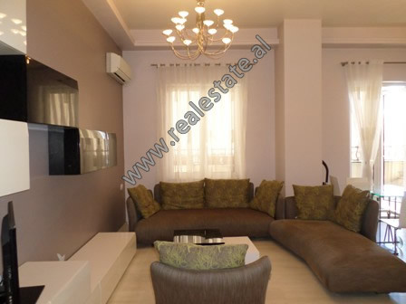 One bedroom apartment for rent in Ibrahim Rugova street, near Blloku Area in Tirana.