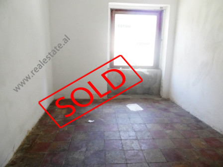 Store for sale in Durresi street in Tirana. The store is situated on the first flooring in an old b