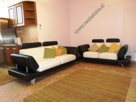 One bedroom apartment for rent near Him Kolli Street in Tirana. It is located on the 3rd floor of a