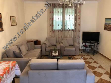 Two bedroom apartment for rent in Hysen Cino street, near the Faculty of Economics in Tirana.