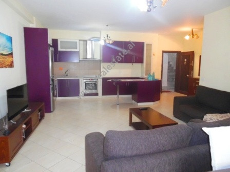 Two bedroom apartment for rent close to Asim Vokshi street in Tirana, Albania.