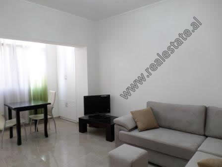 One bedroom apartment for rent in Qemal Stafa street, in Pazari i Ri area in Tirana. It is located