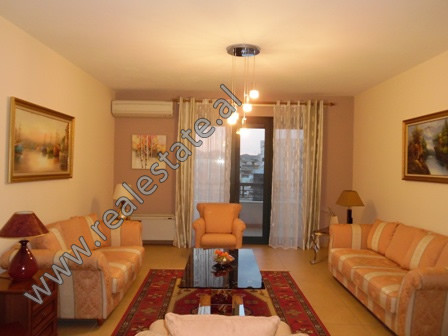 Modern two bedroom apartment for rent in Ibrahim Rugova street, near the entrance of the Park in Tir