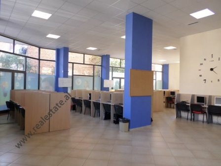Office space for rent in Beqir Luga street, near Pazari i Ri area in Tirana.