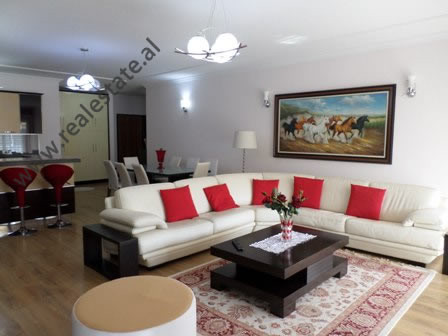Three bedroom apartment for rent close to the Botanical Garden in Tirana.