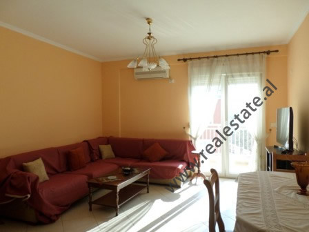 One bedroom apartment for rent in Reshit Collaku street near Tirana Supreme Court. It is located on