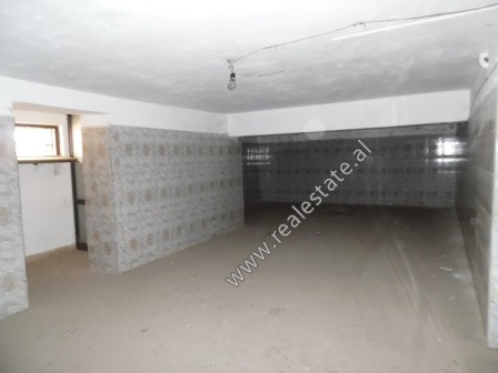 Store space for sale in Haxhi Kika Street in Tirana. It is located on the ground floor of a new bui