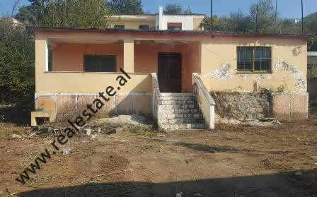 Land and house for sale in Myslym Keta street, in Tufine area in Tirana.  The land has a surface o