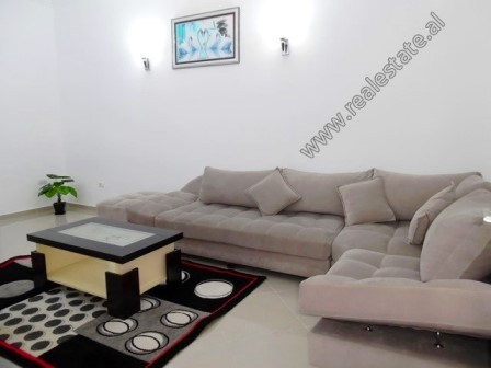 Two bedroom apartment for rent close to Bajram Curri Boulevard in Tirana. It is located on the 4th