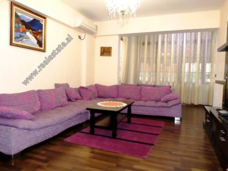 Two bedroom apartment for rent in Sulejman Pitarka Street in Tirana.