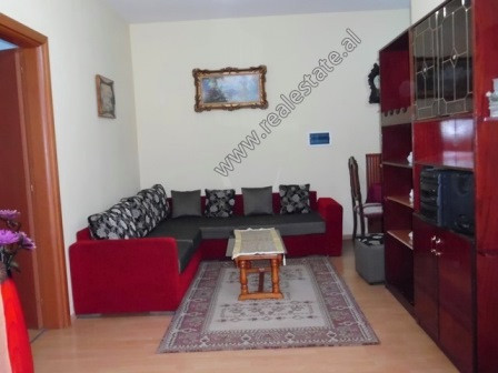 Two bedroom apartment for rent in Vizion Plus Complex in Tirana. It is located on the 3rd floor of