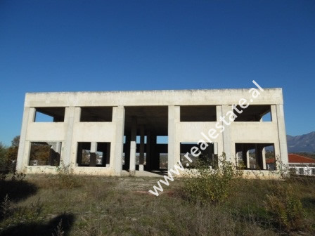 Two storey building for sale in Dobresh village, in Berzhite Commune.