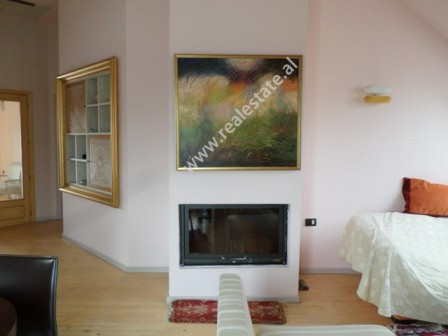 Attic two bedroom apartment for sale in Liman Kaba street, near Dinamo Complex in Tirana. It is loc