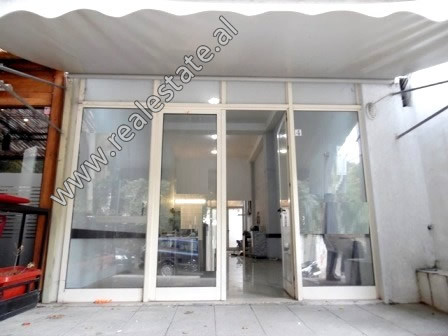 Store space for rent near Elbasani Street in Tirana.