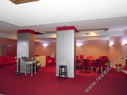 Store space for rent in the beginning of Kavaja Street in Tirana.