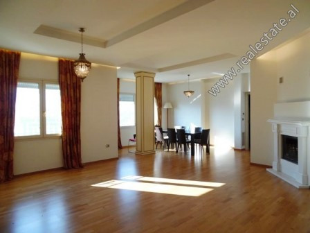 Three bedroom apartment for rent close to the Grand Park of Tirana. It is located on the 7th floor