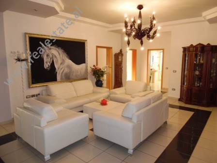 Three bedroom apartment for rent in Pjeter Budi street, near the Swedish Embassy in Tirana.