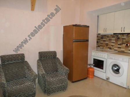 Studio apartment for sale in Zenel Bastari street, in Tirana, Albania.  It is located on the groun