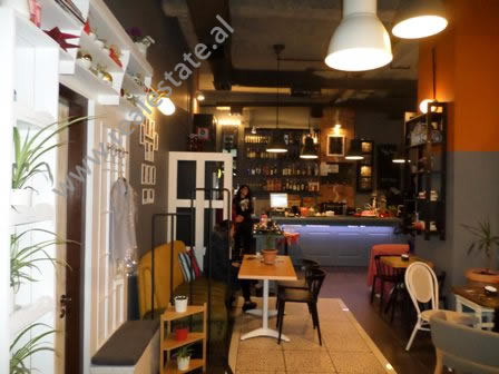 Store space and Business for sale near Ismail Qemali school in Johan Fon Han street, in Tirana, Alba