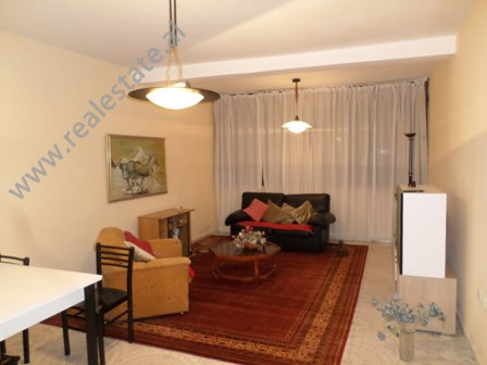 Two bedroom apartment for rent close to Sabaudin Gabrani school, in Tirana, Albania.