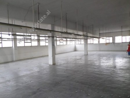 Warehouse for rent in Siri Kodra street, in Tirana, Albania.