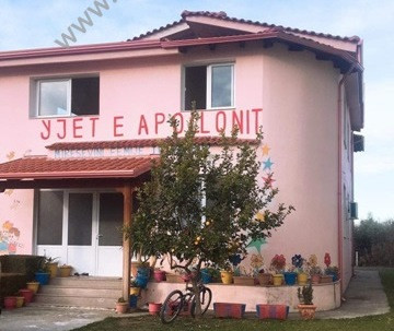 Villa for sale in 16 Prilli area, in Fier, Albania.