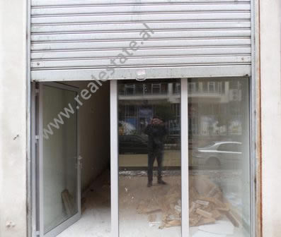 Store space for rent near Astiri area, in Sabri Preveza street, in Tirana, Albania.