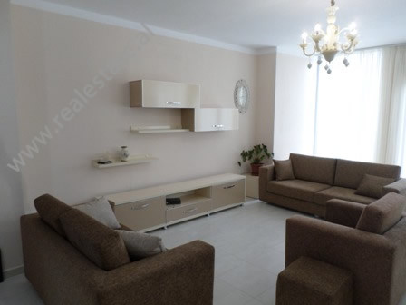 Two bedroom apartment for rent in Ali Demi area, in Zhegu street, in Tirana, Albania.