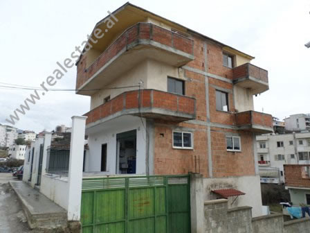 Four storey villa for sale at Vilat Gjermane area, in Fuat Toptani street, in Tirana, Albania.