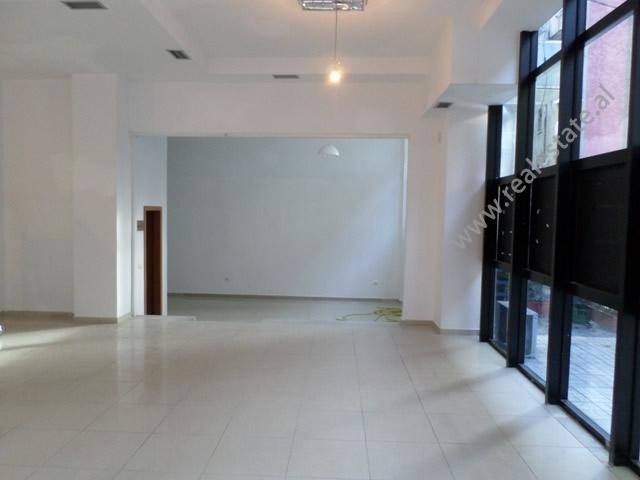 Store for rent near Brryli area, in Arkitekt Kasemi street, in Tirana, Albania.
