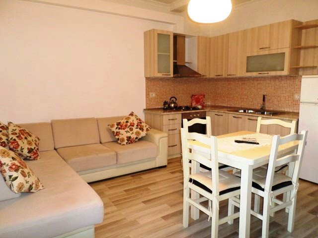 Two bedroom apartment for rent close to Blloku area in Tirana. The flat is located on the 2nd floor