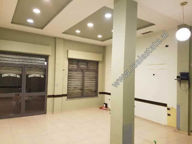 Store space for rent in Naim Frasheri Street in Tirana.