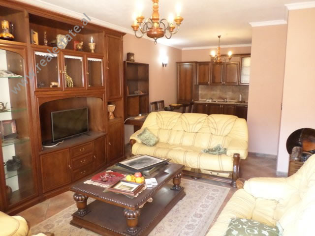 Two bedroom apartment for rent in Komuna e Parisit area, in Medar Shtylla street, in Tirana, Albania