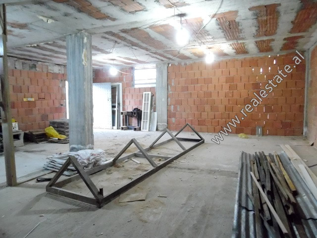 Warehouse for rent in Azem Galica Street in Tirana.