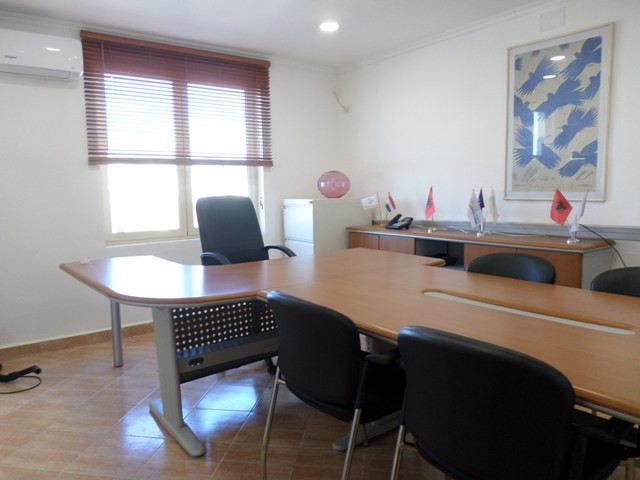 Office for rent near Medrese area, in Besim Daja Street, in Tirana, Albania. It is located on the t