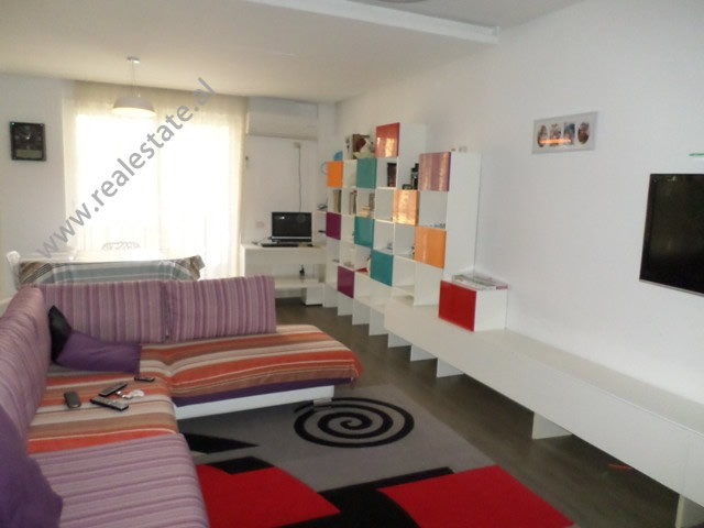 Modern apartment for rent in Riza Cerova street, in Tirana, Albania.