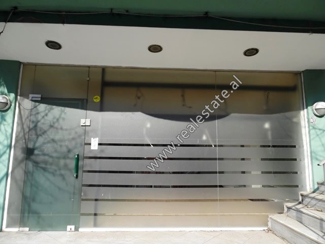 Store space for rent near Adem Jashari Square in Tirana.