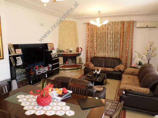 Two bedroom apartment for rent in Ahmet Duhanxhiu street in Tirana, Albania.