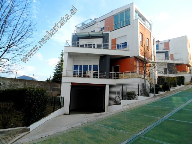 Four storey villa for rent at the beginning of Dervish Shaba Street in Tirana.